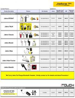 Jabra and iTouch