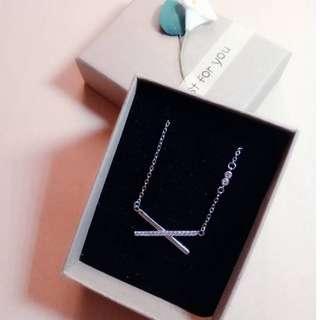 Silver-925 Necklace Fashion Accessories NO:0009