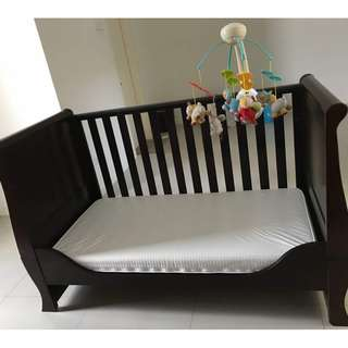 Silver Cross Dorchester Baby Cot Bed - Moving Out House Sale!