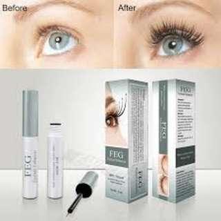 Readystock FEG Eyelash Enhancer Eye Lash Rapid Growth Serum Liquid 100% Natural