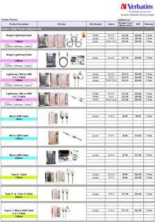 Verbatim accessories