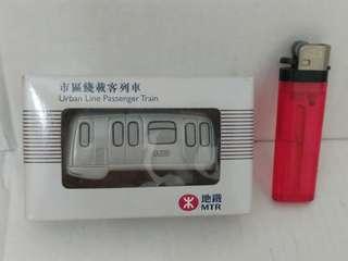 全新 港鐵/地鐵 25周年 Q版 市區線載客列車模型