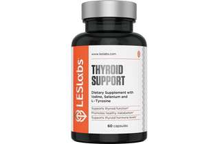 [IN-STOCK] LES Labs Thyroid Support -  Natural Supplement for Thyroid Health -  Metabolism & Thyroid Hormone Levels - 60 Capsules