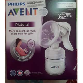 Philips Avent Natural Breast Pump SCF330/20