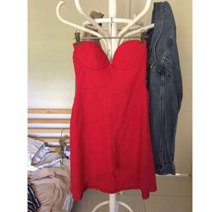 Lioness red bandeau dress 6 // Princess Polly // Beginning Boutique // Kookai // City Beach // Glue Store