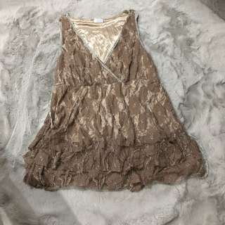 Shiny Night Out Top