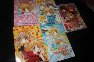 Saint Dragon Girl jilid 1,2,3,4,5 by NATSUMI MATSUMOTO