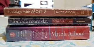 Mitch Albom's 3 books