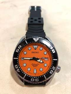 Seiko Prospex Diver Scuba SBDC005 橙mm 細mm 錶帶全新