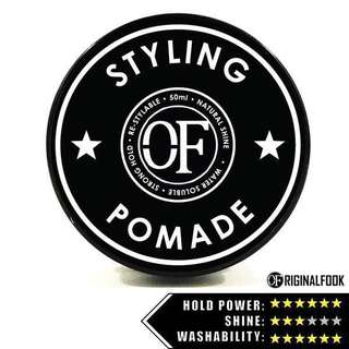🚚 (2 For $15) Hair Styling Water Based Pomade (Strong Hold)
