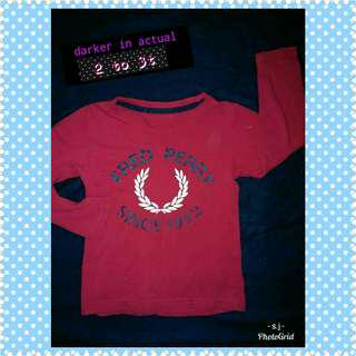 Auth Fred Perry Shirt 2 to 3t
