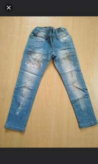 Jeans for girls 7 years old