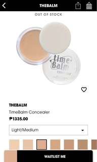 Time Balm Light-medium Concealer
