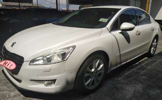 2012 PEUGEOT 508  1.6 (A) FULLY SERVICE BY PEUGEOT