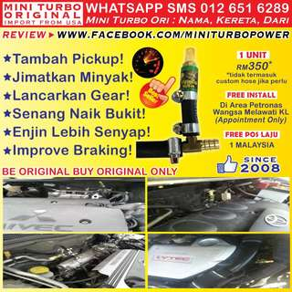 ►JOM Beli! Mini Turbo Ori Makin Pickup! Save Minyak! Laju Mendaki! WHATSAPP 012 651 6289