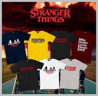 STRANGER THINGS SHIRT
