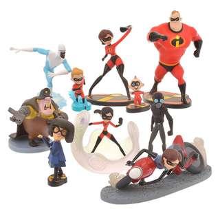 [PO] Disney Japan Incredibles Deluxe Figurine Box
