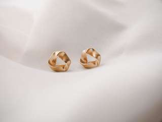 Irregular Triangle Studs