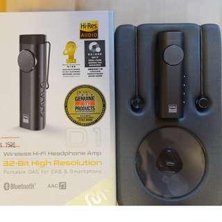 99% new ProStereo D1 Bluetooth DAC+Amp with Headphone /藍牙耳機+耳擴+DAC 24/96 Hi-RE