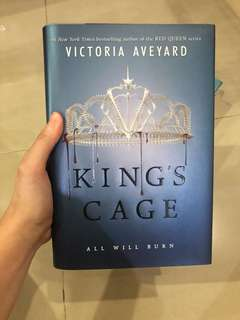 King's Cage Hardcover
