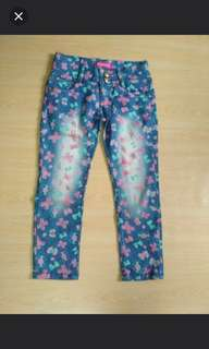 Flora pants 6/7 years old