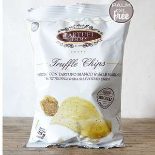 意大利海塩白松露薯片 White Truffle & Sea Salt Potato Chips 45g