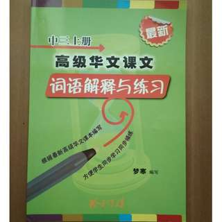 Higher Chinese - Secondary 3 Assessment