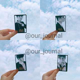 [READY STOCK] WANNA ONE PHOTOCARD 0+1=1 I PROMISE YOU
