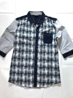 🚚 HBOY 七分袖襯衫 M號