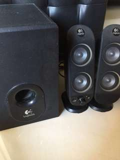 Logitech X230 Speaker System With Subwoofer for pc