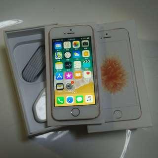 Iphone SE 64GB rose gold HK version 港版