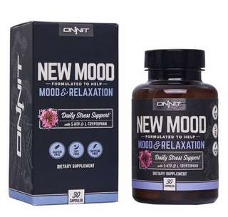 [IN-STOCK] Onnit New Mood: Daily Stress, Mood, and Sleep Support Supplement (30ct)