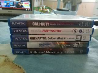 PS Vita games selling cheap