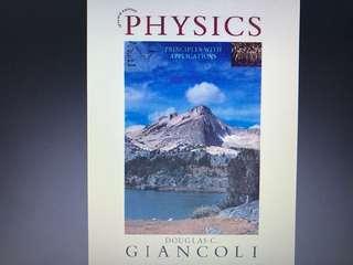 Seventh edition physics principles with applications Douglas c. Giancoli