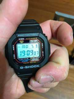 🚚 G-shock 5600 光動能、六局電波