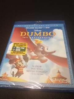 [New!] Dumbo (Bluray+DVD 2 Combo pack)