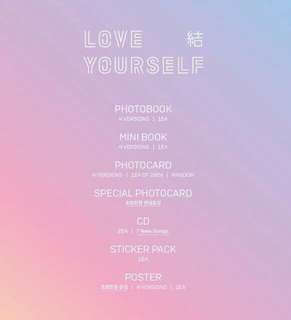 [PREORDER] 2nd Batch BTS LOVE YOURSELF : ANSWER (LY : Answer) Group Order