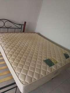 King koil queen size mattress bed tilam