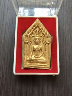 ✳️LP Thongdum 2549 Khun Paen Gold Front (2nd Batch) Superb Condition W/ Temple Box‼️