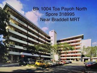 Toa Payoh office for rent (Near MRT)
