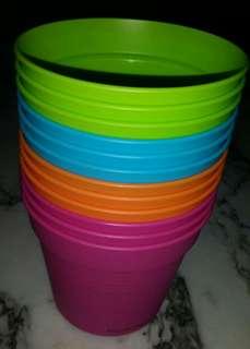12 Colour pots