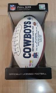 OFFICIALLY LICENSED FOOTBALL (can nego)