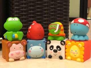 Take me home! ELC bath toys
