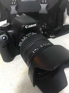 🚚 Canon 550D +sigma 18-125mm