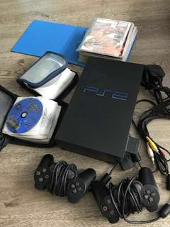 Playstation 2 with free games