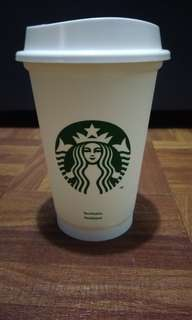 Starbucks Reusable Plastic Cup 12oz