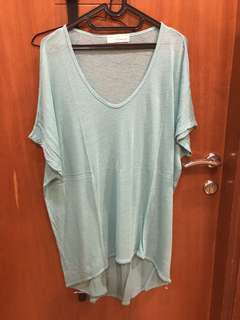 Turquoise Loose Top