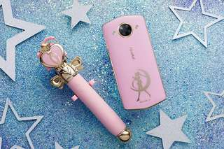 Sailor Moon Limited Edition Meitu Phone Set    - Sakura Pink, 1 of 10,000 sets globally