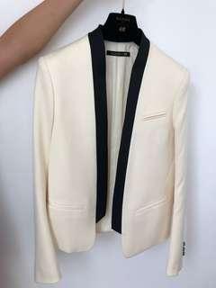 Balamin x H&M White Blazer
