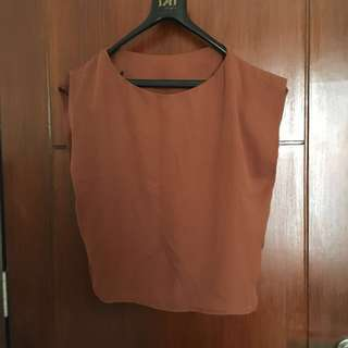 100rb = 4pc Blouse coklat